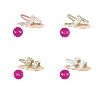 Jack Rogers added new girls jelly sandal and launched a new baby collection