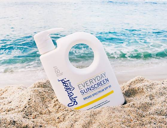 Supergoop! every day with sunscreen